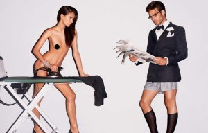 Tom Ford is notorious for having disturbing and incredibly misogynist ads. ...Just wow is all I have to say...