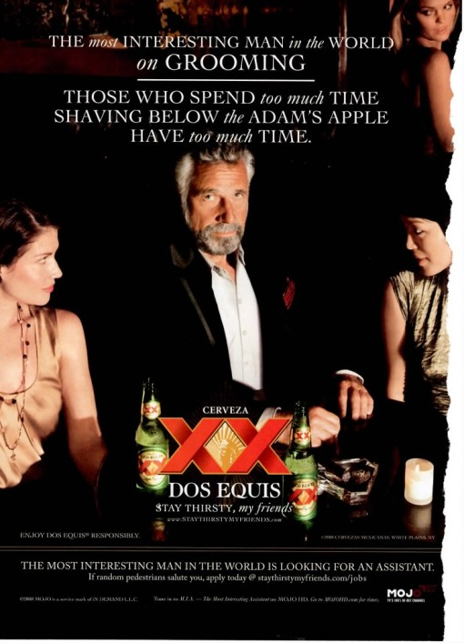 the most interesting man in the world the gender blender blog